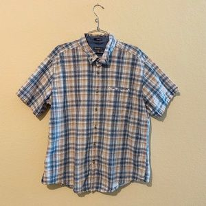 Eddie Bauer Classic Fit Short Sleeve Button Up